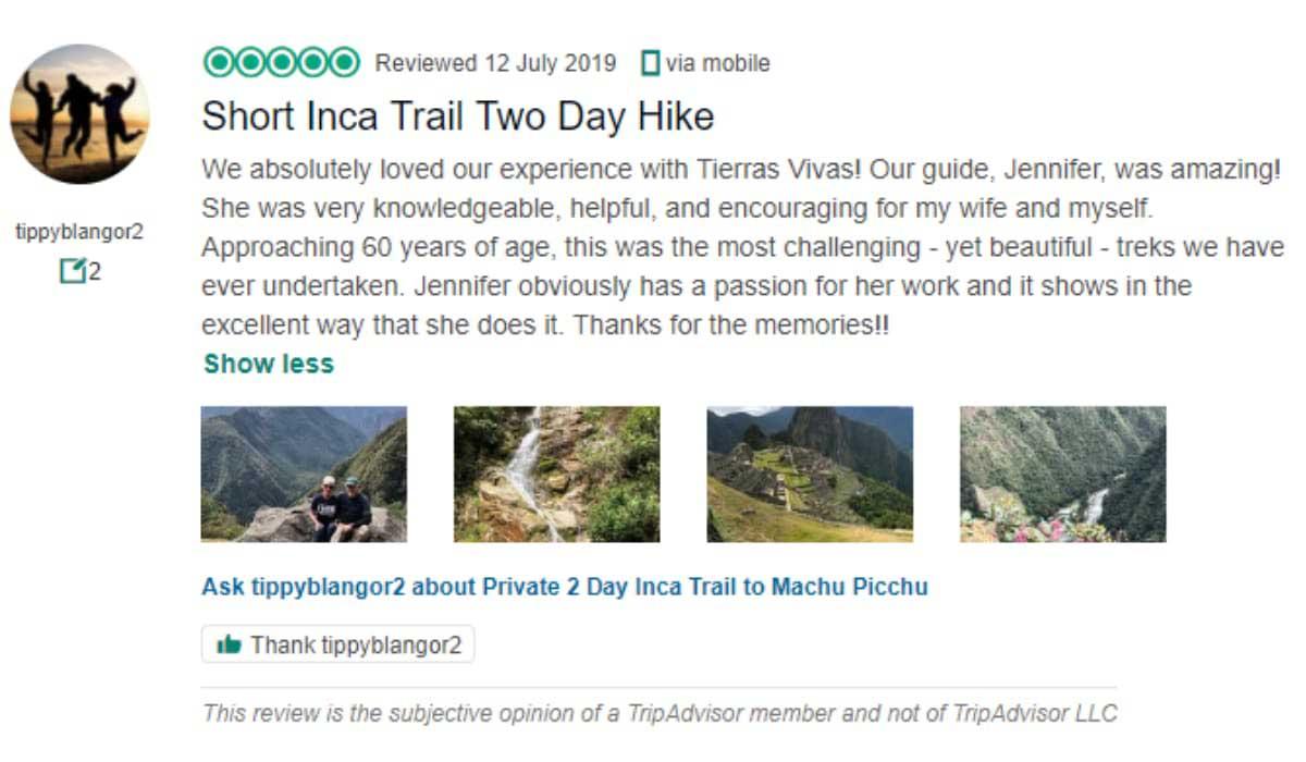 2-day-Inca-Trail-Tripadvisor-Comments-1