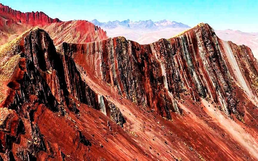 Pallay Poncho Mountain Cusco