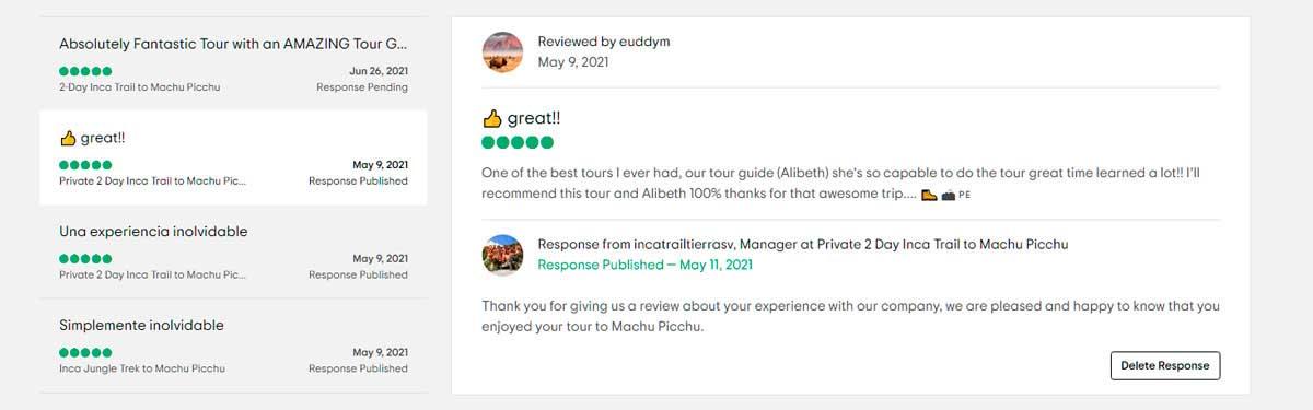 great!! Trip Advisor