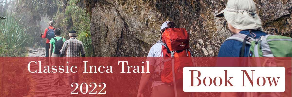4 Day Inca Trail tours 2022