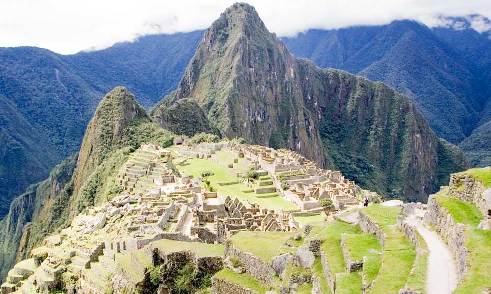 Machu Picchu in April