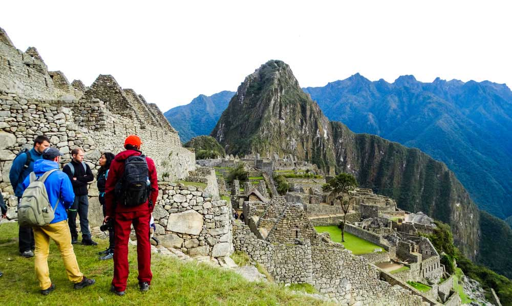Machu Picchu in July and August