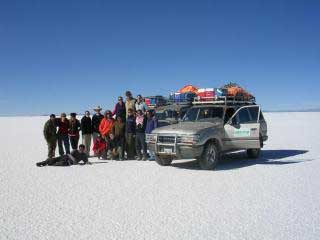 Bolivian Salt Flats Holiday