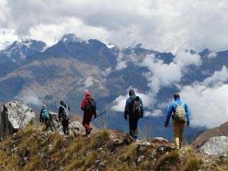 Short Salkantay Trek Backpacking