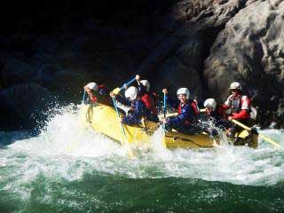 White water rafting Cusco day tour