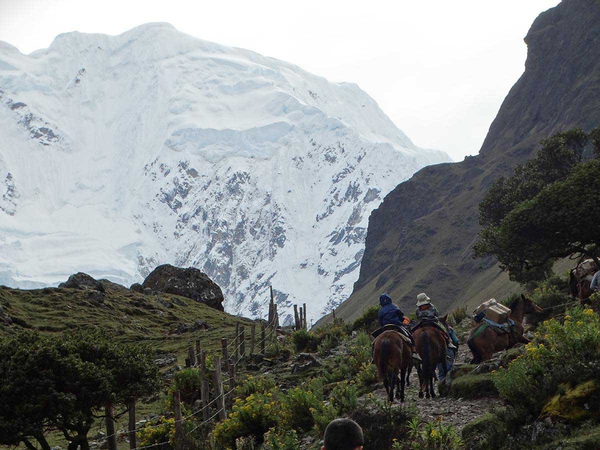 Salkantay to Inca Trail